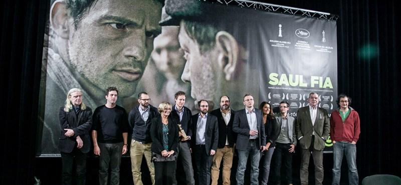 Filmes tananyag lesz a Saul fia