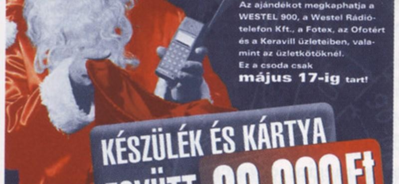 Emlékeznek még? Hatalmas siker volt a Westel 1995-ös Mikulása