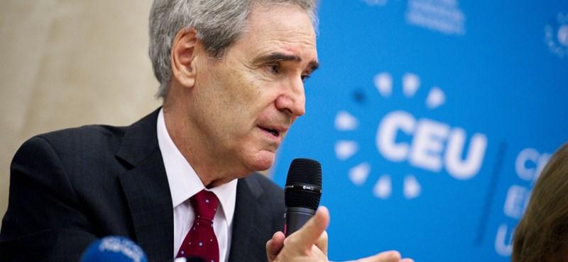 CEU rektora: ironikus, hogy a világrangsorok vezető kutatóegyetemét űzi el a kormány