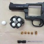 Gázpisztollyal lőtt rá egy polgárőrre, elfogták