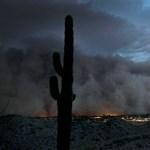 Gigantikus porvihar csapott le az USA-ban - amatőr videók