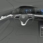 Ilyen lesz a 8-as VW Golf belseje, amelynek elhalasztották a bemutatóját