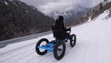 Kerekes szék, de nem kerekesszék: jó buli mozgássérülteknek