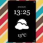 Elegáns, minimalista óra az iPhone-ra és az iPadre