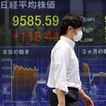 Második napja javult a tokiói tőzsde