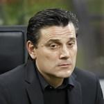 Kirúgta Montellát a Milan, már megvan az utódja