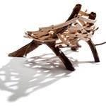 """Modern szék műanyag nélkül - természet ihlette """"szépség"""""""