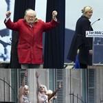 Lánya kizárta Le Pent a pártjából