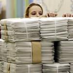 Tíz tonna levelet kézbesítettek Ciszjordániában