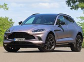 Guantes de boxeo, azul sangre, asiento para bebé: 95 millones de pies Hoover Aston Martin DBX bajo prueba