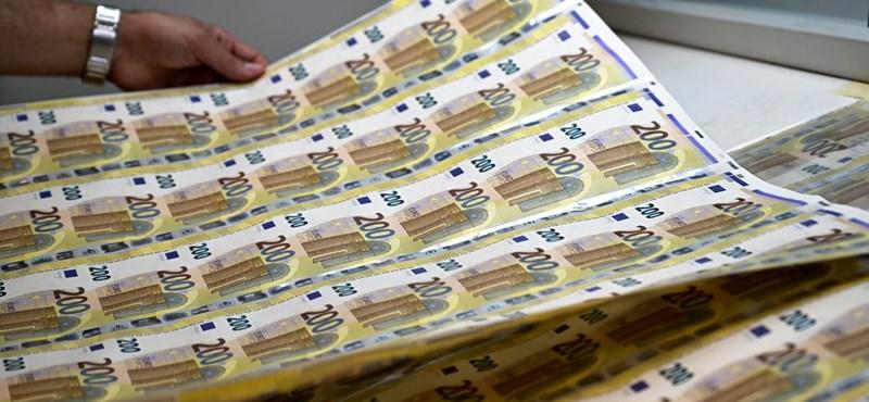 Új euróbankjegyeket vezetnek be