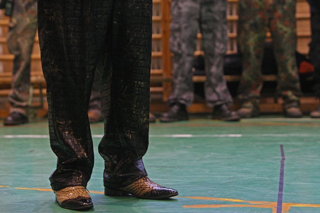 Az országos cigányvajda tartotta meg beszédét Sajóbábonyban a Jobbik rendezvényén, ahol korábban gárdisták verekedtek össze romákkal.