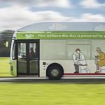 Itt a szennyvízhajtású busz