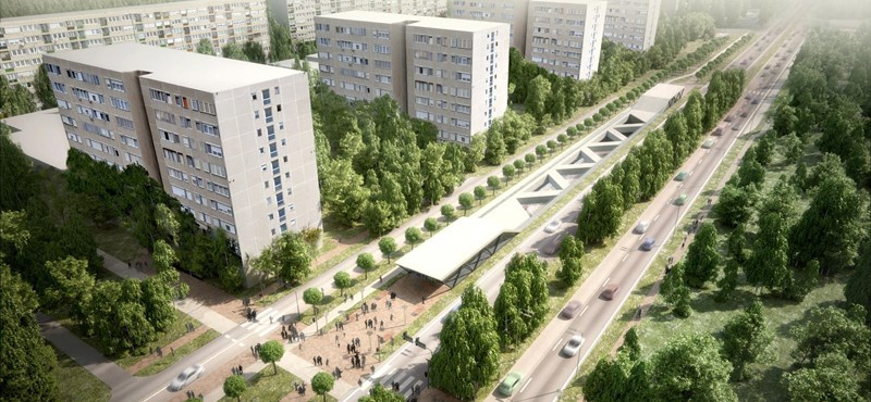 Így fognak kinézni a gödöllői HÉV megállói és az Örs vezér téri metróállomás