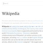 Egy kattintással szebbé teheti a Wikipédiát