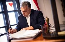 Orbán Viktor aláírta a rendeleteket