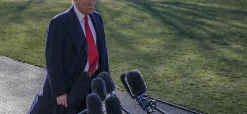 Trump elégedett a légicsapással