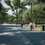 Már a bringásoknak sem tetszik a Városliget átépítése