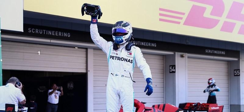 Bottasé a szezon első pole pozíciója