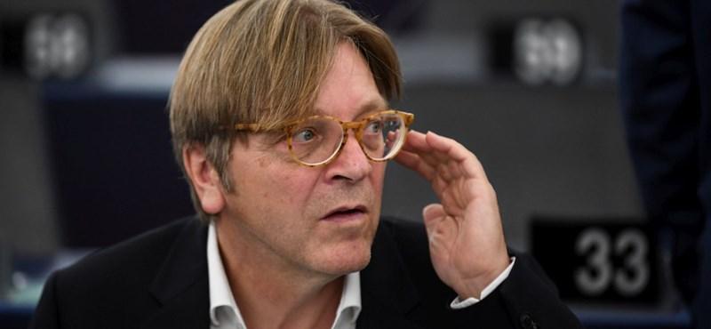 """Verhofstadt a CEU elüldözéséről: """"Ilyet a nácik csináltak utoljára"""""""
