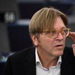 Kovács Zoltán megint megtalálta Guy Verhofstadtot