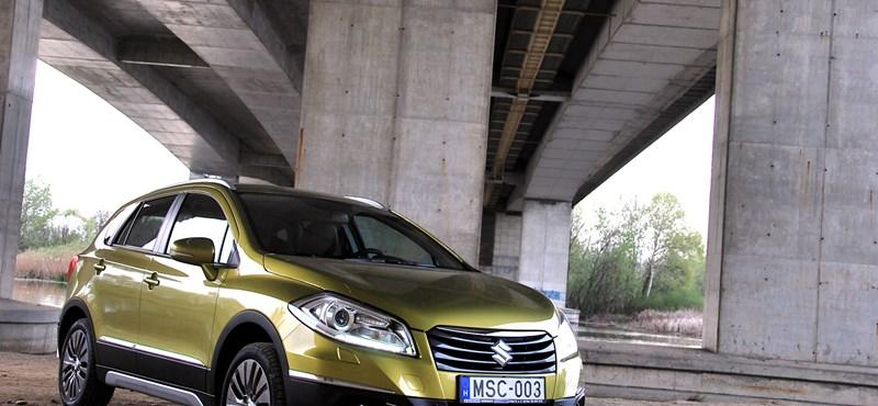 Suzuki SX4 S-Cross teszt: felnőtt a piachoz