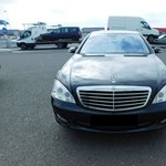 Ebből a luxus Mercedesből, most nem lesz jó állapotú használtautó vagy alkatrész
