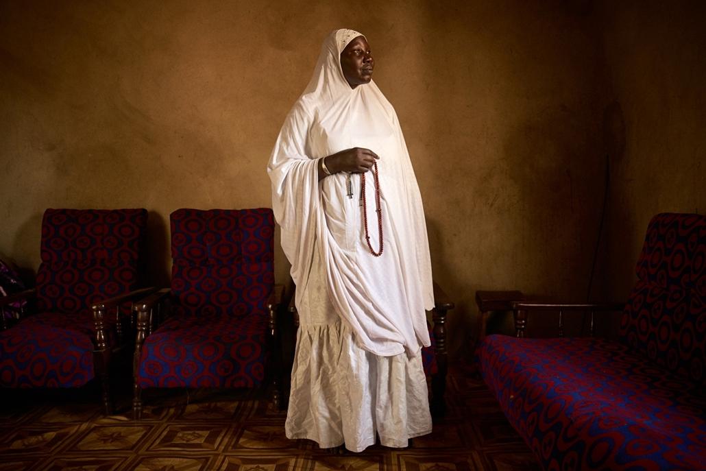 afp.18.02. - AFP nőnap Houssa Nientao 64 éves bamakói marabout remete