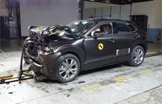 Egy megfizethető autó produkálta a legjobb töréstesztet eddig