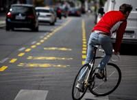 Hatszorosára nőtt kerékpárforgalom a Nagykörúton