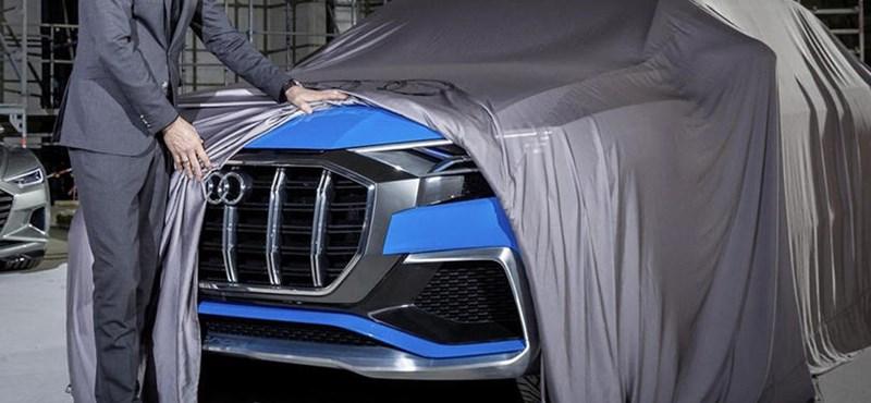 Megvillant az Audi Q8