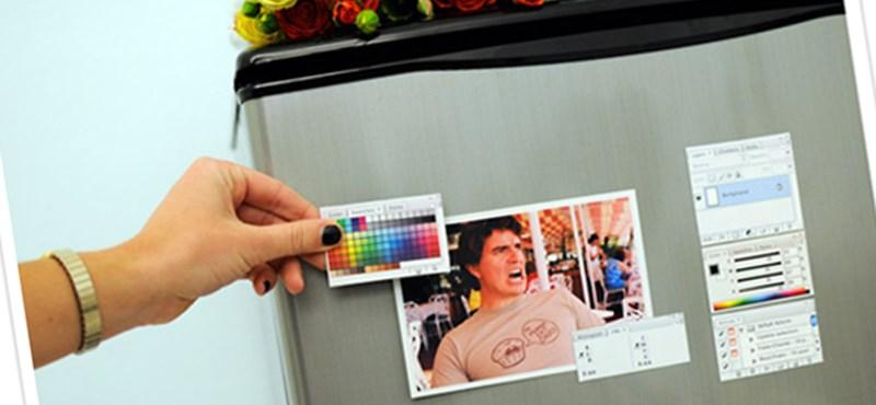 Photoshop hűtőmágnes