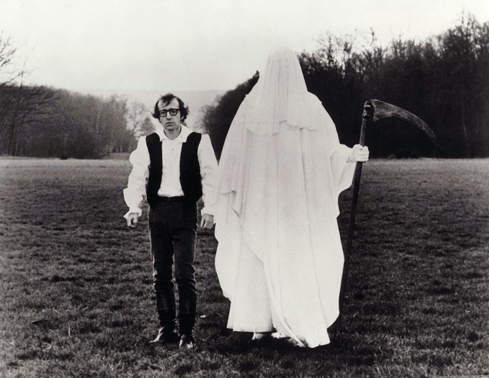 afp.1975. - Woody Allen a Szerelem és halál (1975) című filmben - nagyítás