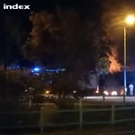 Lángolt az évek óta lakatlan Hűvösvölgyi Vígadó épülete az éjjel