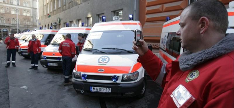 A mentőápolók csaknem felének nincs egészségügyi szakképesítése