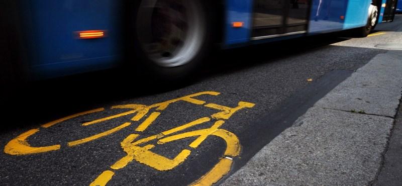 Borzonganak a kerékpárosok Tarlós ötletétől