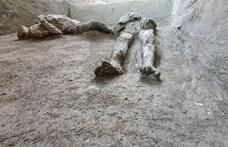Lenyűgöző lelet került elő az apokaliptikus Pompejiből: úr és szolgája testét rekonstruálták