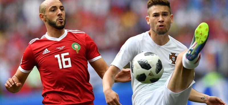 Portugália–Marokkó: 1–0
