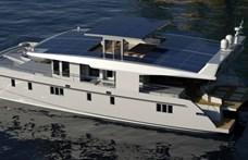 Ezzel a napelemes jachttal örökké bolyonghat a tengeren