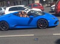 Vajna Tímea eladja Lamborghinijét, és teszi mindezt furcsa fotókkal