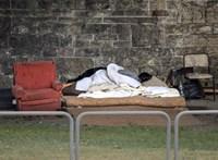 A budapestiek nem vegzálnák a hajléktalanokat