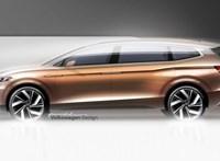 Látványos új 7 üléses Volkswagen érkezik