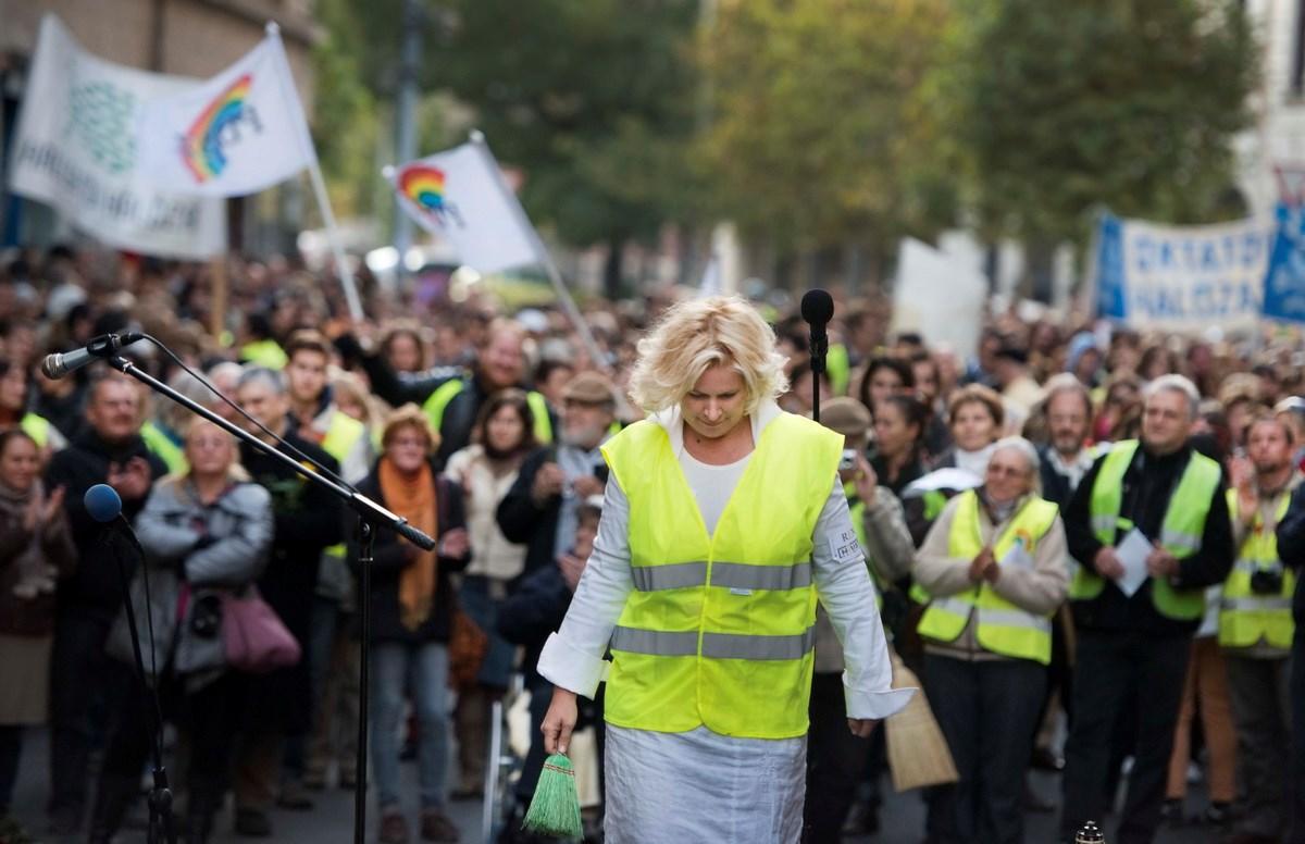 Fotók: Hoffmann rendszere ellen tüntettek