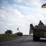Orosz ejtőernyősöket fogott el az ukrán hadsereg