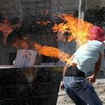 Egy tüzes hét képei