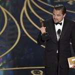 Leonardo DiCaprio végre Oscart nyert, és a klímaváltozásnak ajánlja