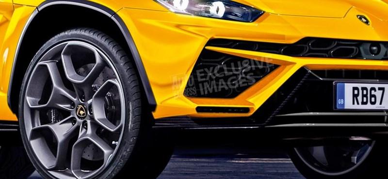 Mindent felforgat a 600 lóerős Lamborghini terepjáró