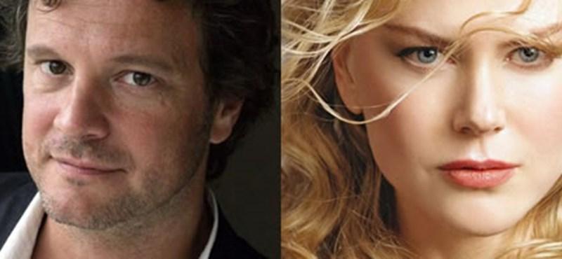 Filmhírek: Colin Firth és Nicole Kidman egy pár