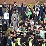 Budapesten folytatták a balhézást a Fradi-szurkolók a koroncói meccs után