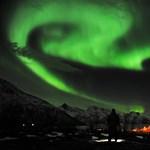 A nap képe: különlegesen látványos sarki fény Norvégia felett